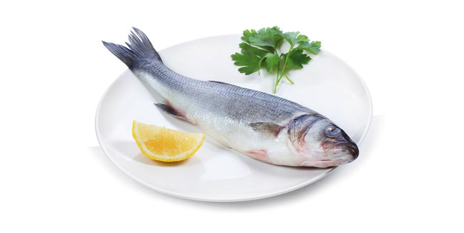 Sea bass with lemon with lemon